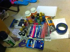 How to paint a cooler - I wish we did this when I was in college!  So I'm going to do it now, why should I miss out?