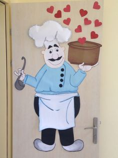 Yemekhane kapı süsü