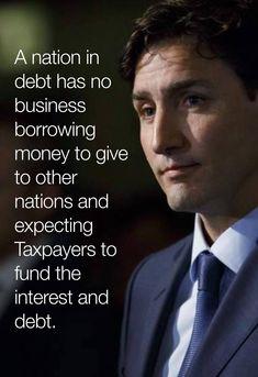 Political Topics, Political Corruption, Political Opinion, Political Quotes, Politics, Trudeau Canada, Wisdom Quotes, Life Quotes, Liberal Memes