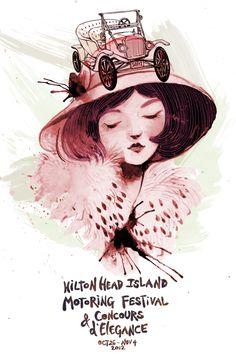HHI Posters by Natalie Suarez, via Behance