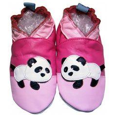 bbkdom - Lauflernschuhe Krabbelschuhe Babyschuhe Leder Schuhe mit «Monsieur Panda» - http://on-line-kaufen.de/bbkdom/bbkdom-lauflernschuhe-krabbelschuhe-leder-mit-5