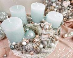 Winter Christmas, Napkin Rings, Advent, Wreaths, Home Decor, Xmas, Homemade Home Decor, Door Wreaths, Deco Mesh Wreaths