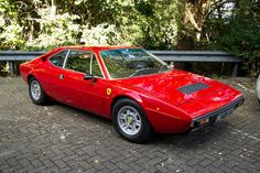 Ferrari Dino 308 GT4.  A fun car to drive