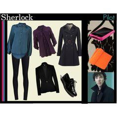 """Sherlock BBC Femlock Pilot"" by mimisketch on Polyvore"