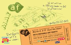We are very proud to be a sponsor of the Artist Foundation of San Antonio's Movable Art Party (MAP). Hope to see y'all March 8th!
