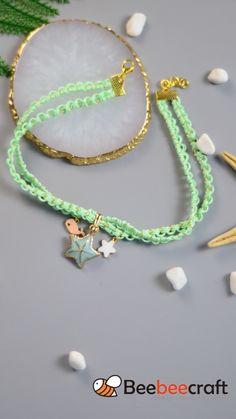 Handmade Wire Jewelry, Diy Crafts Jewelry, Bracelet Crafts, Beaded Jewelry, Beaded Bracelets, Jewellery, Diy Friendship Bracelets Tutorial, Diy Bracelets Easy, Handmade Bracelets