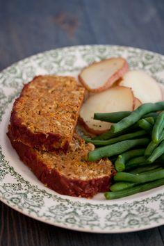 Lentil Loaf W/ Potatoes (Soy/Gluten/Oil/Nut free)