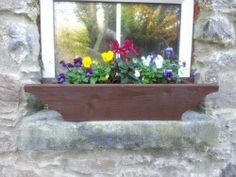 Window Box Customised to match individual window sizes Irish Images, Window Sizes, Love Garden, Douglas Fir, Diy Projects To Try, Garden Furniture, Color Splash, Windows, Colour