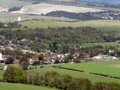 Sussex Downland nr Kingston   http://bovingtonbitsandblogs.blogspot.com.es/ #England #Sussex