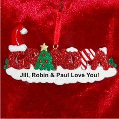 Godchild  Personalized First Christmas Ornament  Christmas