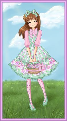 Springy Sugar Pansy by Amenoo.deviantart.com on @deviantART #sweetlolita