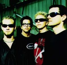 The Offspring: saw them when I was in high school, my first real concert. I listened to everything they ever made back then...loved them.