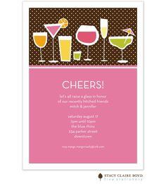 Cheers Invitation
