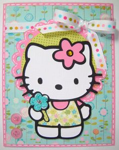 Hello Kitty - Cards. - Cricut Forums