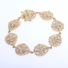 Diamond Gold Bracelet $31 AtAuction.com