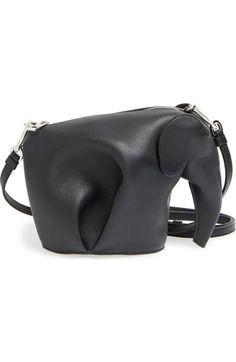 5d53485c4682 Loewe  Mini Elephant  Crossbody Bag