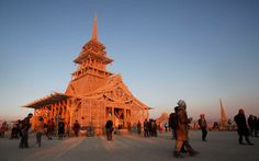 Ashes to ashes Death rites have become private and tepid affairs. The Burning Man Temple brings a fiery edge to modern mourning