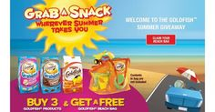 Free Beach Bag With Purchase of 3 Goldfish Crackers Products http://www.lavahotdeals.com/ca/cheap/free-beach-bag-purchase-3-goldfish-crackers-products/94089