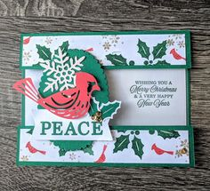 Xmas Cards, Holiday Cards, Stampin Up Paper Pumpkin, Pumpkin Cards, Candy Cards, Bird Cards, Christmas Crafts, Christmas 2019, Merry Christmas
