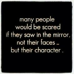 So true! If only that were possible, people would start caring more about the inside image rather than the appearance!