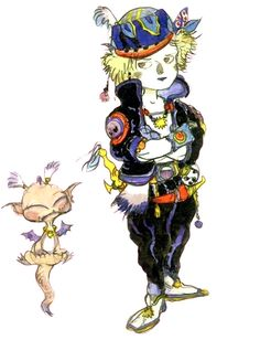 Locke Cole - Pictures & Characters Art - Final Fantasy VI