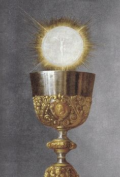 """""""What great sweetness there is, O Jesus, in Communion! I want to live in Your embrace and die in Your embrace."""" - St. Therese, fatima network...by Defensio Fidei, via Flickr"""