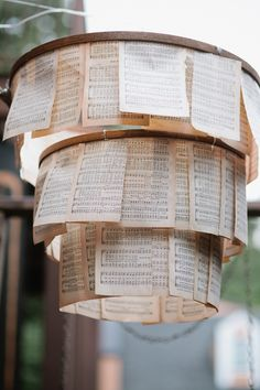 music sheet chandy // photo by Kaitie Bryant Photography // View more: http://ruffledblog.com/the-notwedding-athens/