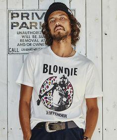 商品詳細 - BLONDIE/'76 ptT-SH|HYSTERIC GLAMOUR MENS(ヒステリックグラマー メンズ)公式通販