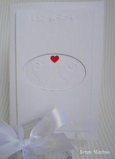 Scrap Maximo : Cartão de felicitações de casamento