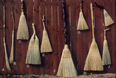 Handmade brooms from WWW.friendswoodbrooms.com