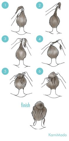 Any occasion hairstyle tutorials – no more than 5 minutes needed – hairstyle models - Hair Styles