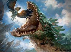Revager Wurm - ART by Svetlin Velinov (PRO) - Freelance concept artist and illustrator Fantasy Demon, Fantasy Beasts, Dark Fantasy, Fantasy Creatures, Mythical Creatures, Historia Natural, Dragon Design, Mystique, Creature Concept