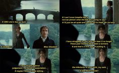 sorry for the language - Pride and Prejudice Movies Showing, Movies And Tv Shows, Pride And Prejudice And Zombies, Jane Austen Books, Mr Darcy, Period Dramas, Movie Quotes, Good Movies, Book Worms
