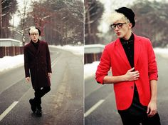 Red Sunday Dinner (by Burnt Toast) http://lookbook.nu/look/4514087-Red-Sunday-Dinner