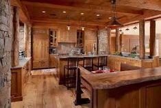 Resultado de imagen para cocinas rusticas de madera