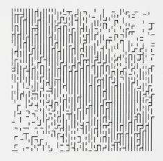 Frieder Nake, Walk-through-Raster, series 2, 1-4 | by Eye magazine