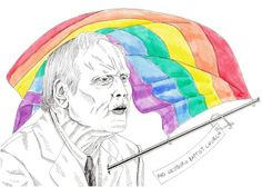 Fred Phelps Just Died – Fuck That Guy | Illustration by Victoria Sin #art #illustration