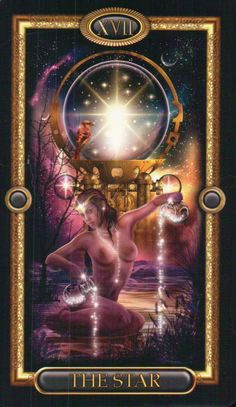 The Star ~ The Gilded Tarot by Ciro Marchetti