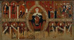 """""""Frontal d'altar de Sant Vicenç d'Espinelves"""". És la proposta del Museu Episcopal de Vic per al viquiprojecte 'Una Joia del Museu' (DIM 2013)"""