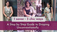 Step Guide, Indian Wear, Sari, Chic, How To Wear, Fashion, Saree, Shabby Chic, Moda