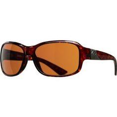 Costa Del Mar Inlet Polarized Sunglasses - Costa 580 Polycarbonate Lens - Women's Tortoise/Copper, One Size Costa Del Mar. $168.95