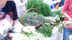 Alacati Herb Festival, held in April