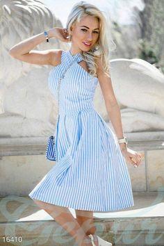 Изящное летнее платье 16410 фото 1