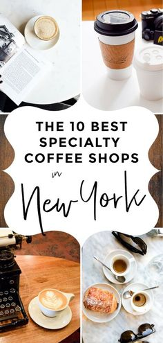 Best Specialty Coffee Shops in New York I Love Third Wave Coffee Shops I LOVE when visiting NYC! Find the best cafes and lattes in New York City.Third Wave Coffee Shops I LOVE when visiting NYC! Find the best cafes and lattes in New York City. Cute Coffee Shop, Best Coffee Shop, Coffee Shops, New York Travel Guide, New York City Travel, Coffee Shop New York, Cafe New York, Visiting Nyc, Upstate New York