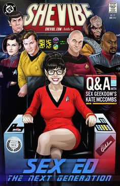 SheVibe Presents - Sex Ed: The Next Generation - Q&A with Sex Geekdom's Kate McCombs - http://www.shevibe.com/kate-mccombs-of-sex-geekdom.aspx
