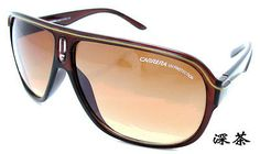 Sunglasses Fashion Matte Frame Carrera Glasses  Box Dark brown