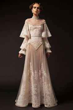 party Outfit Krikor Jabotian 2019 New Evening Dresses High Neck Lace Applique Long Sleeve Beading Formal P. Krikor Jabotian 2019 New Evening Dresses High Neck Lace Applique Long Sleeve Beading Formal Party Dress Vintage Pageant Evening Gowns After Prom Dresses, Evening Dresses, Vintage Evening Gowns, Long Sleeve Evening Gowns, Long Sleeve Gown, Sleeve Dresses, Prom Gowns, Pretty Dresses, Beautiful Dresses