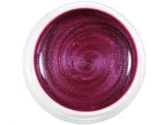 UV-Farbgel Rot-Lila metallic # 12