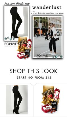 """ROMWE"" by begajeta2309 ❤ liked on Polyvore featuring Mason's"