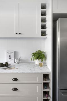 Design & Build Your Dream New Kitchen With Kaboodle Australia Kitchen Ikea, Old Kitchen, Kitchen Pantry, Kitchen Living, Kitchen Cabinets With Wine Rack, Kitchen Decor, Budget Kitchen Remodel, Kitchen On A Budget, Kitchen Remodeling